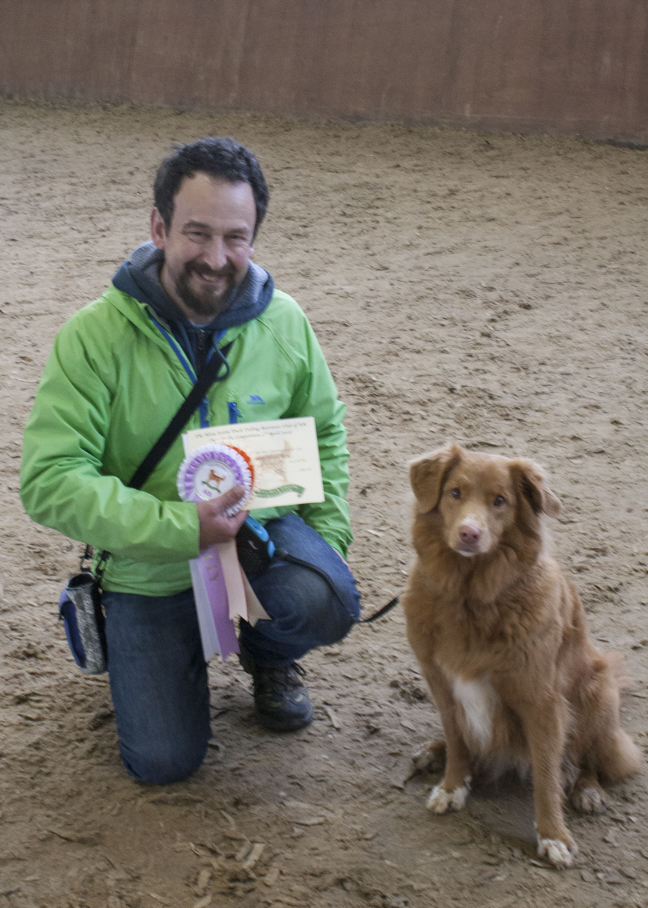 Tony & Cassie Top Toller Level 6 NSDTR of UK 2016